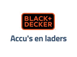 Black en Decker accu's