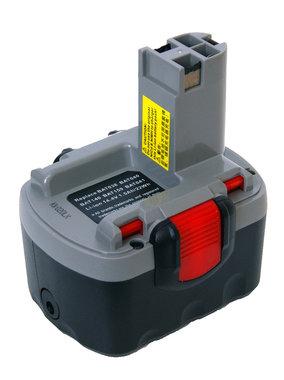NIEUW 14,4 volt LI ION accu voor uw oude Bosch boormachine gratis lader