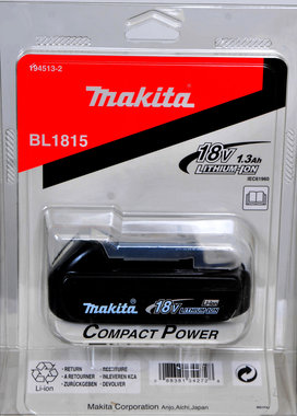 Makita BL 1815 Li ion accu  18 volt klein