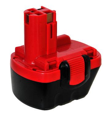 Bosch accu 12 volt met steel aanbieding!!