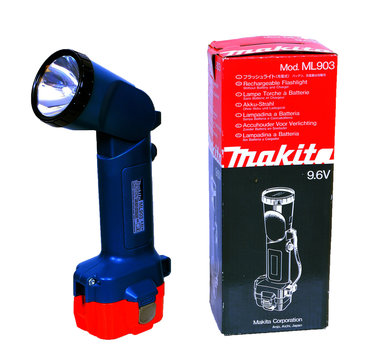 Makita 9,6 volt lamp