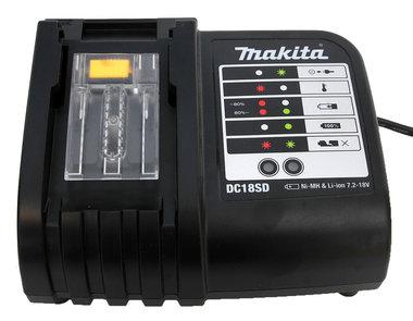 Makita DC18 SD snellader