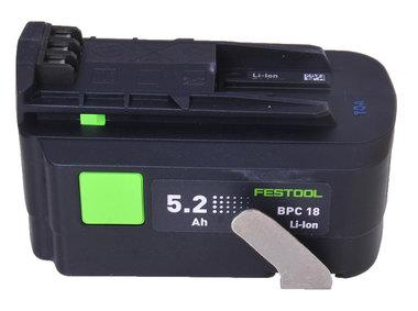 Festool BPC 18 volt li-ion accu 5,2 Ah origineel