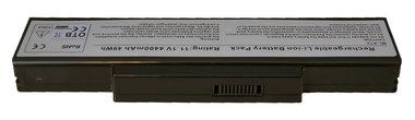Asus K72, K73, N71, N73, X72, X77  10.8-11 volt