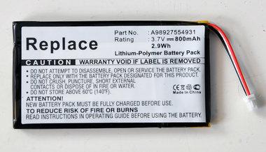 SONY PRS-600, Li-Polymer, 3,7V, 800mAh,
