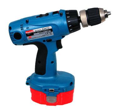 Makita 6347D  18 volt voor de Ni Cad en NI MH accu
