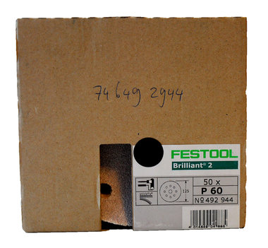 Festool ronde schuurschijfjes 125 mm  50 stuks