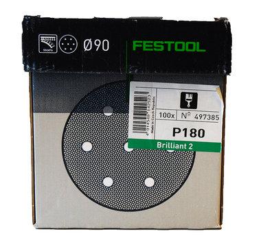 Festool ronde schuurschijfjes 90 mm  100 stuks