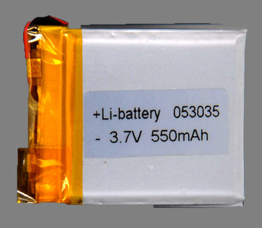 Li ion batterij 550 mAh 053035