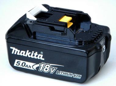 Makita 18 volt  5 Ah de nieuwste uitvoering
