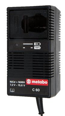 Metabo C 60 lader voor accu's 7,2 tot 15,6 v (gebruikt)