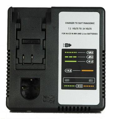 Panasonic acculader 7,2 tot 24 volt