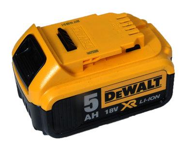 Dewalt DCB184 - 18 v Slide model 5,0 ah Origineel