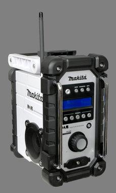 Makita radio op accu of lichtnet type DMR 104 jubileum model kleur wit
