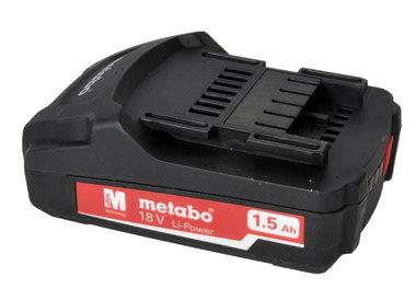 Metabo 18V 1,5 ah Li ion cellen