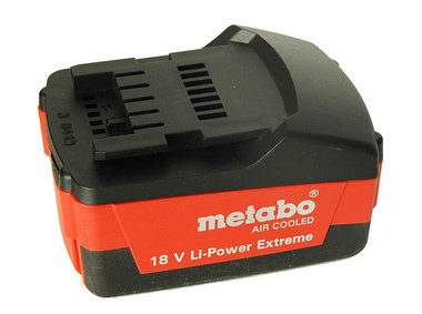 Metabo Accu 18V Li-Ion 4.0 Ah Power Extreme Air Cooled