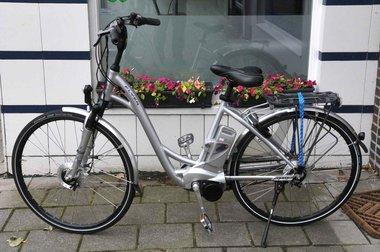 Gebruikte Flyer fiets met nieuwe accu