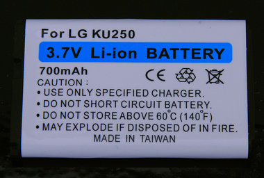 LG accu 3,6 volt