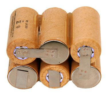 Black and Decker vervangende accu 7,2 volt