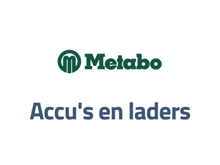 Metabo accu's