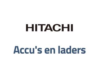 Hitachi (Hikoki) accu's