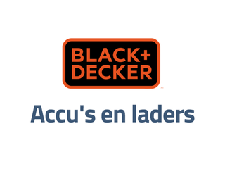 Black en Decker accu's