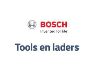 Bosch tools en Laders