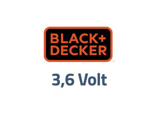 Black en Decker 3,6 volt