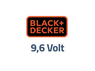 Black en Decker 9,6 volt