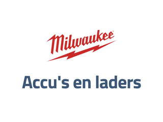Milwaukee tools en laders