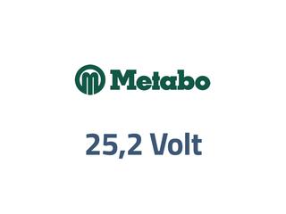 Metabo 25,2 volt
