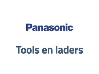 Panasonic tools en laders