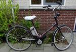 Batavus en Sparta  fiets accu  24 volt (pharos) grijs nu met Li Ion cellen!!