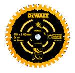 DeWALT DT10303 Cirkelzaagblad 184 x 2,6 mm | 16 Tanden