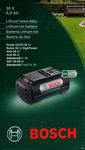 Bosch 36 volt Li ion 4,0 de nieuwste accu org