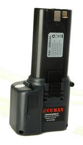 9,6 volt AEG 2000 systeem de laatste