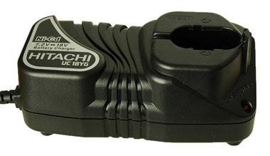 Hitachi UC18YG accu lader 7.2-18 volt (Gebruikt)