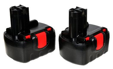 Bosch 14,4 volt set van 2 stuks