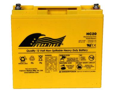 12 v 20Ah extreme power batterij