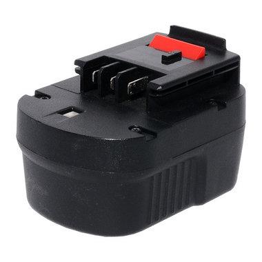 Black en Decker 12 volt 3,0 Ah schuifaccu