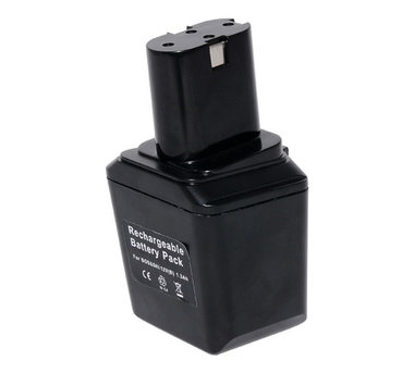 Bosch 12 volt accu zwart lang 3,0 Ah