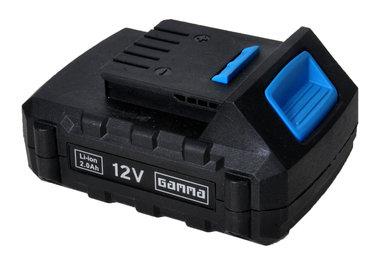 Gamma 12 volt li ion accu