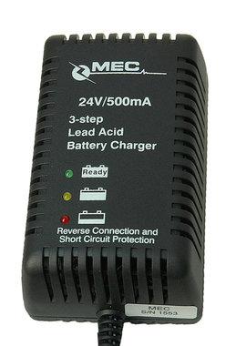 24 volt acculader