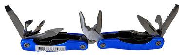 Multi tool met veel extra's met,zaag,opener,enz