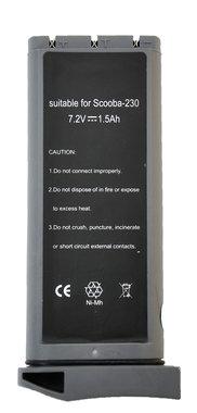 Irobot Scooba 230  vervangende accu 7,2