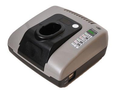 Makita acculader 7 tot 18 volt voor alle accu's met steel