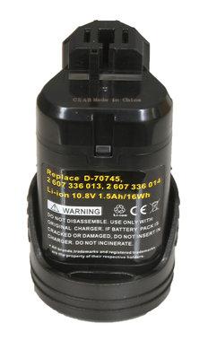 voor Bosch 10,8 volt li ion accu huismerk BLAUW