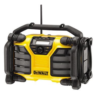 DeWALT bouwradio en lader DCR017