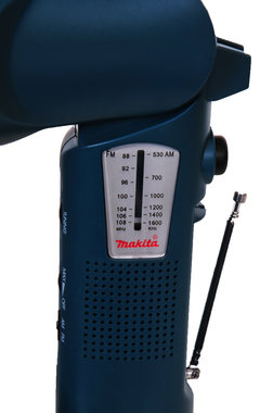 Makita lamp ML124 met ingebouwde RADIO  12 volt