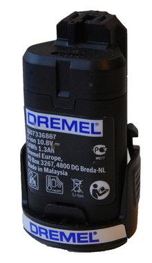 Dremel 10,8 volt / 12 volt 1,3 Ah accu origineel
